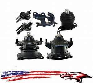 Engine And Transmission Mounts 6pc Kit Acura Tl 2004