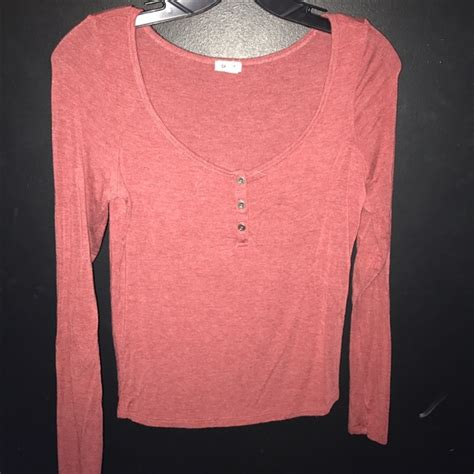 rust colored shirt 57 garage clothing tops garage clothing rust