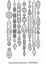 Chimes Chime Antistress sketch template