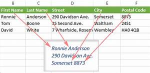 How to make labels from excel using mail merge for How to print address labels from excel