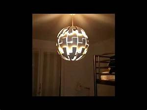 Ikea Lampe Ps : banggood ikea ps 2014 remote controlled lustre lampe ik a t l command youtube ~ Yasmunasinghe.com Haus und Dekorationen