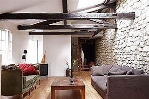 decoration appartement poutres apparentes With deco maison avec poutre 10 la poutre en bois dans 50 photos magnifiques