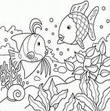 Fish Coloring Tropical Pages Bestappsforkids sketch template