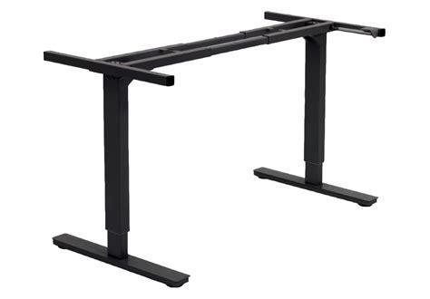 adjustable desk legs adjustable height table legs sit and stand desk bases sit