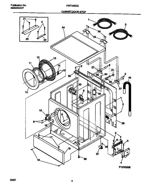 Maytag Front Load Washer Parts Diagram Automotive