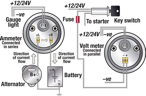 Vdo Marine Hour Meter Wiring Diagram by Troubleshooting Boat Gauges And Meters Boatus Magazine