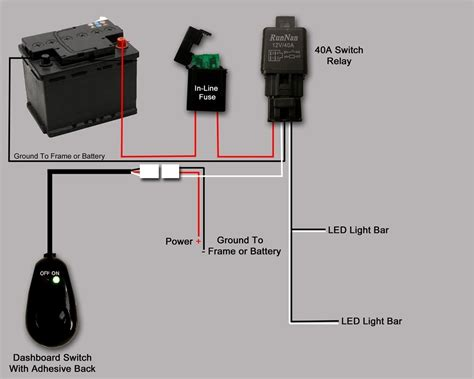 How Wire Led Lights Toggle Switch Wiring Diagram