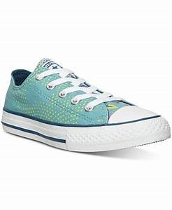 Converse Girls Chuck Taylor Ox Neon Floral Casual