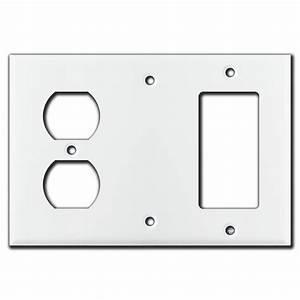 Duplex Blank Decora Wall Switch Covers
