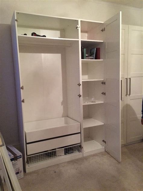 2 Door Wardrobe With Drawers And Shelves by 15 Wardrobe With Shelves And Drawers Wardrobe Ideas