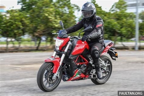 Benelli Tnt 25 Modification by Review Benelli Tnt25 Low Cost Stylish City