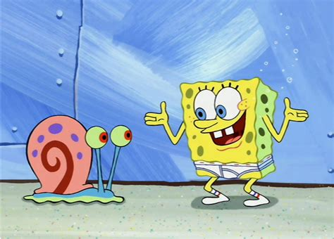 Spongebob Underwear And Gary Spongebob Wallpapers