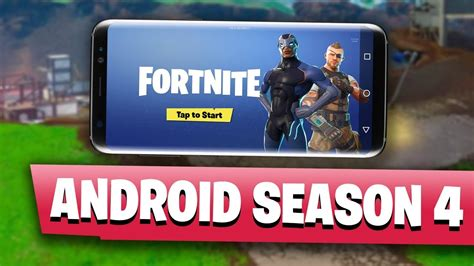 fortnite android release fortnite mobile season