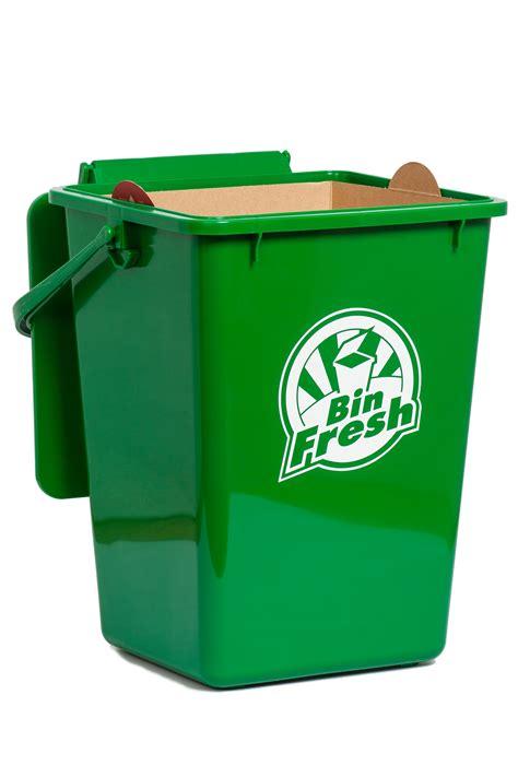 green kitchen bins 9l kitchen bin liner by bindoctor bin doctor 1387