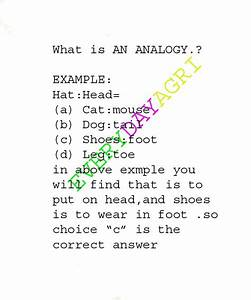 Everyday Science: WHAT IS AN ANALOGY