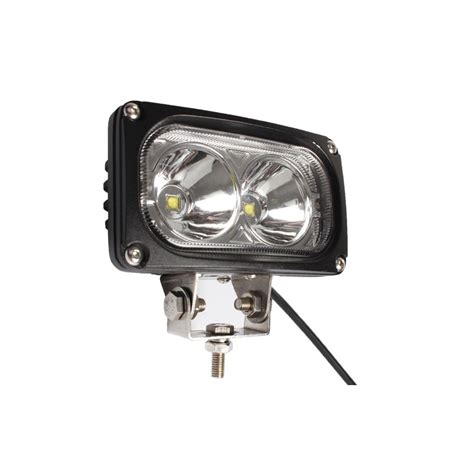 phare led 4x4 longue port 233 e 30w rectangulaire 140mm