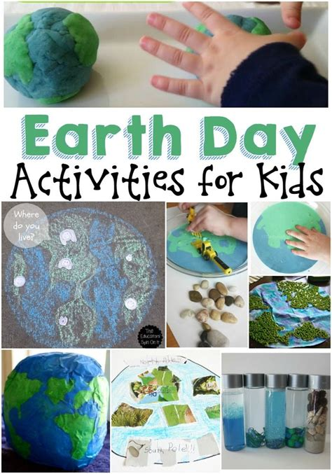 great earth day activities  kids earth day
