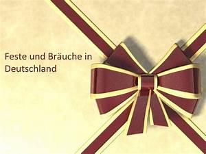 Bräuche In Deutschland : ppt feste und br uche in deutschland powerpoint presentation id 2603344 ~ Markanthonyermac.com Haus und Dekorationen