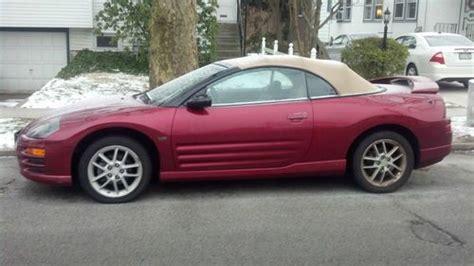 sell   mitsubishi eclipse spyder gt convertible  door   wynnewood pennsylvania