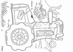 Hook Und Ein Traktor Zum Ausmalen Dehellokidscom