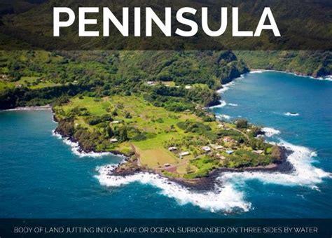 what is a peninsula world largest peninsula