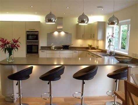kitchen design breakfast bar u shaped kitchen designs with breakfast bar interior 4400