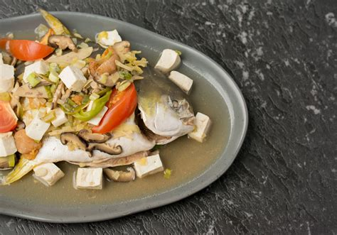 teochew style steamed fish asian inspirations