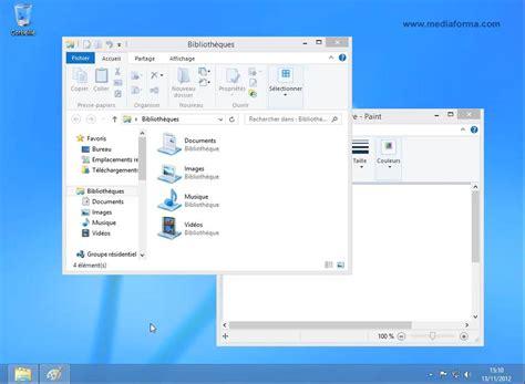 afficher bureau windows 8 windows 8 1 le bureau est toujours là médiaforma