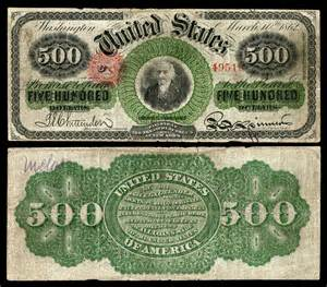 Us Currency Denominations United States