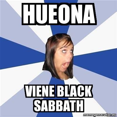 Annoyed Black Girl Meme - meme annoying facebook girl hueona viene black sabbath 24465198