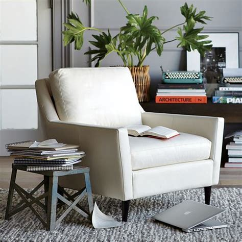 West Elm Everett Chair Leather by 17 Best Images About White On Armchairs