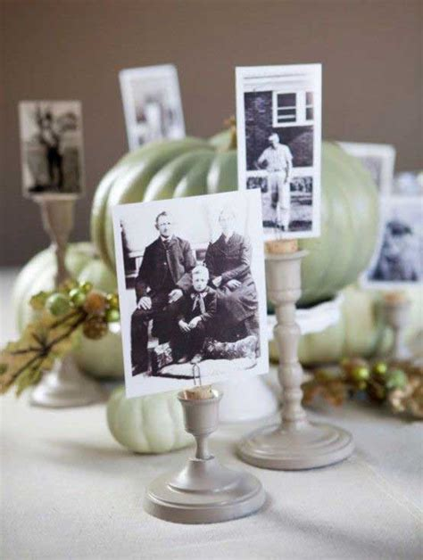 table centerpieces using photos 15 amazing diy wedding centerpieces something borrowed