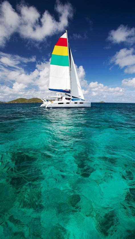 colorful sailboat iphone     iphone  wallpapers