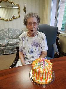 all about mlg: happy 95th birthday, great grandma!