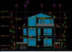 Modern House With Details 2d Dwg Full Project For Autocad