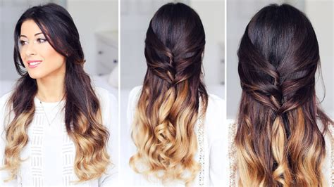 Half Hairstyles by Half Up Half Hairstyle