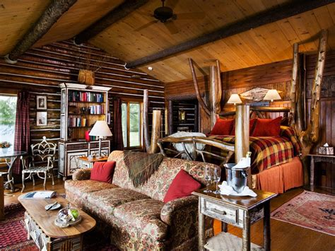 Vacation Idea Cozy Up In Log Cabins That Aren't Rustic At