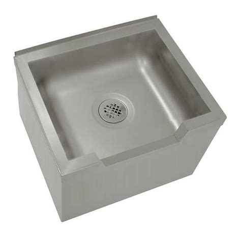 stainless steel mop sink advance tabco floor mop sink wall stainless steel 9 op