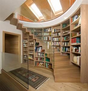 Treppe Mit Stauraum : treppe mit b cherregal ~ Michelbontemps.com Haus und Dekorationen