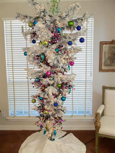 upside down christmas trees 30 beautiful tree ideas celebration all about