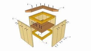 Woodwork Diy Wood Planter PDF Plans