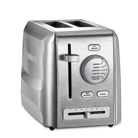 Cuisinart Toaster by Cuisinart 2 Slice Stainless Steel Custom Select Toaster