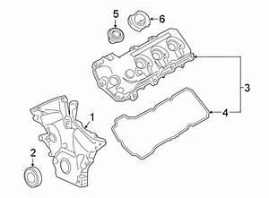 Lincoln Mkt Engine Valve Cover  Wturbo  Right  Liter