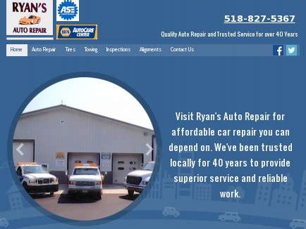 ryans auto repair auto repair middleburgh ny