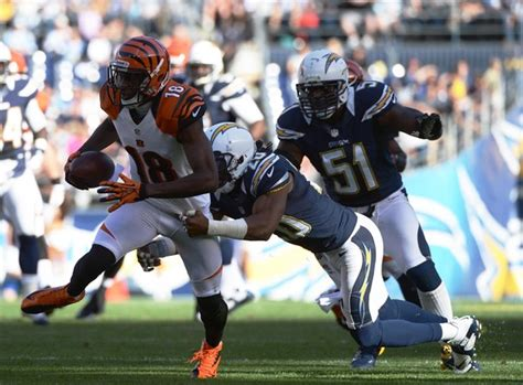 Antoine Carson In Cincinnati Bengals V San Diego Chargers