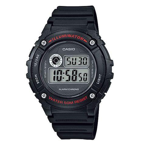 jam tangan g shock 0 07 casio standard w 216h 1av indowatch co id