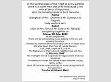 Wedding Invitation Card Wordings,Wedding Card Wordings