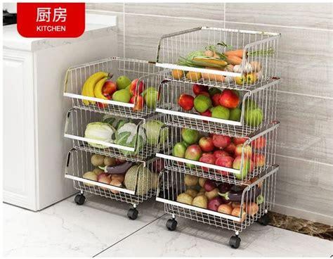 modern stackable metal bin basket open front wire storage baskets