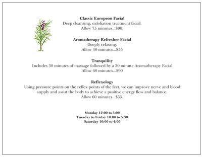 relaxing facial treatments  images vistaprint