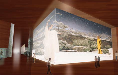 home design minimalist symbolization concept of modern museum building design